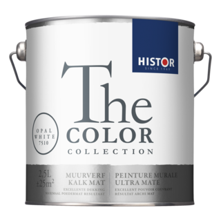 Histor The Color Collection Muurverf Kalkmat