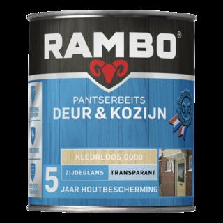 Rambo Pantserbeits Deur & Kozijn Transparant Zijdeglans