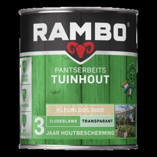Rambo Pantserbeits Tuinhout Transparant Zijdeglans