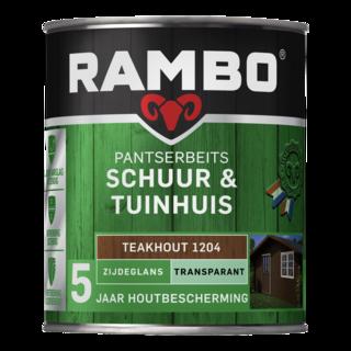 Pantserbeits Schuur & Tuinhuis Zijdeglans Transparant