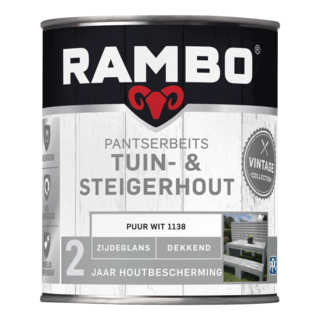Rambo Pantserbeits Tuin & Steigerhout Dekkend Zijdeglans