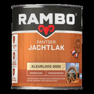 Rambo Pantser Jachtlak Transparant Hoogglans