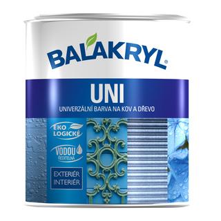 Univerzální barva na kov a dřevo- Balakryl Uni mat