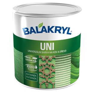 Univerzální barva kov, dřevo- Balakryl Uni satin
