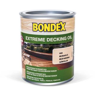 Olej na dřevo - Bondex Extreme Decking Oil