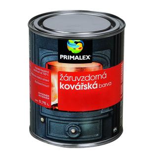 Nátěrová hmota-Primalex žáruvzdorná kovářská barva