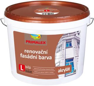 Fasáda-Primalex Akrylátová renovační fasádní barva