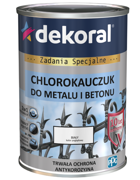 Chlorokauczuk do metalu i betonu