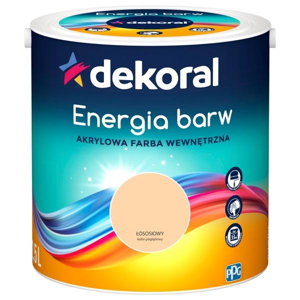 Energia barw
