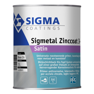 Sigmetal Zinccoat 3in1 Satin