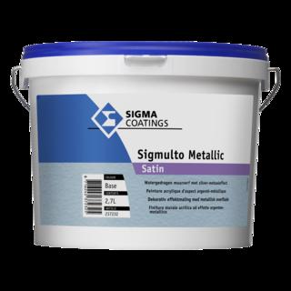 Sigmulto Metallic Satin