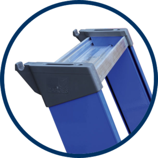 Skyworks Trap Bordes Premium Blauw 4300